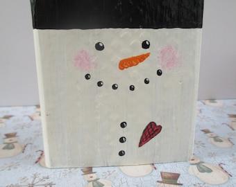 Frosty, Snowman, Holiday decor, Christmas Decor, Winter Decor