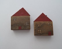 Wooden Folk handmade houses