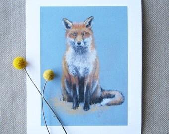 Print Red Fox