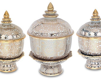 Tea, Saké & Ink Shrine Bowl Set