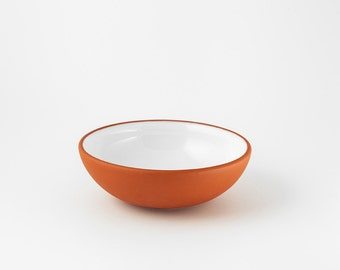 Bowl, red clay