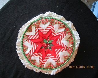 Christmas Star Applique Wall Hanging