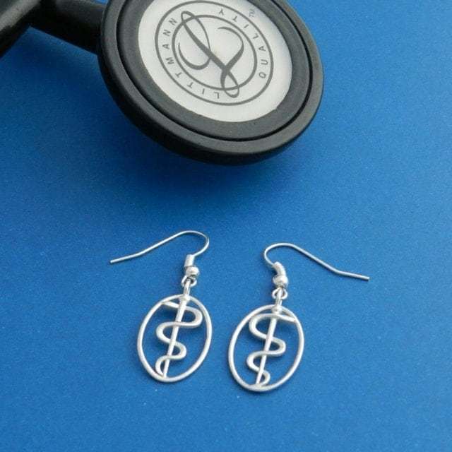 fine jewelry for medical professionals by copperserpentshop