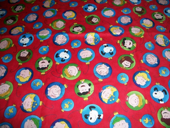 Peanuts Cotton Fitted Toddler Sheet by SunshineBabyandQuilt