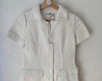 Courrèges white space age vintage jacket