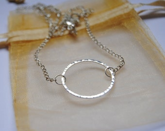Once Upon A Time OUAT Emma Swan Circle Necklace Eternity Choker