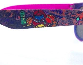 Metroid Custom Painted Sunglasses