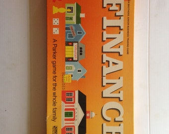 Finance Trading Game by Parker Brothers 70s Classic Board Game Family Game
