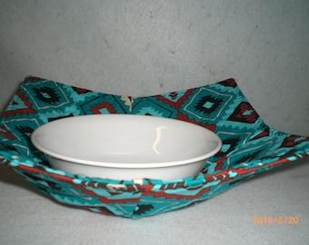 Bowl Hot Pad,  Southwestern Geometric Design #1
