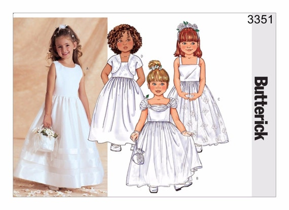 Butterick 3351 Size 2-5 sewing pattern Child by Craftsbycarlo