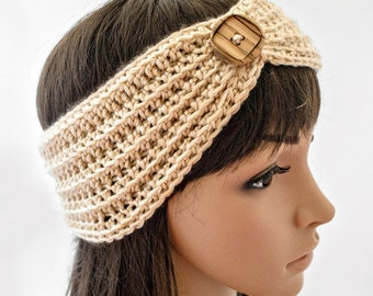 Crochet Pattern for Headband, Ear Warmer Turban PDF 16-267