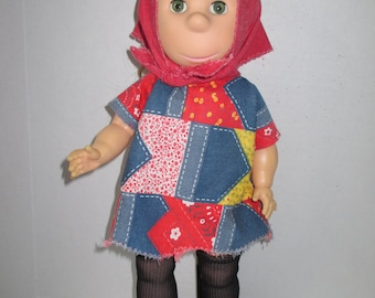 Poor Pitiful Pearl Doll by Horsman 1963 Wm Steig 18 inch w Modern Fancy Dress to change to