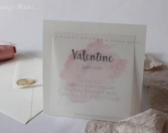 Love Quotes Valentine Card