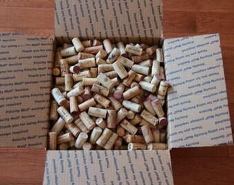 100 natural used wine corks