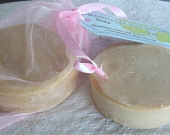 Hand Crafted Sandalwood Coconut Milk Bar Soap, 2/8