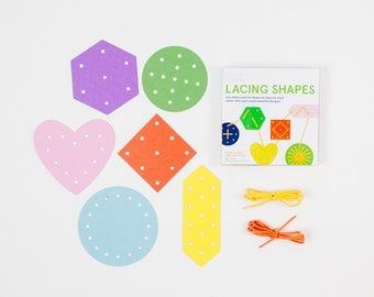Lacing Shapes Kit