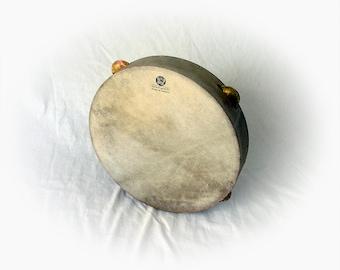 30cm Tambourine Timbrel Tamborello Pandeiro Epirotiko Defi Framedrum Bronze Zils Sewn Skin by KleoDrums