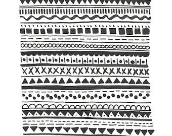 SALE - Pattern No. 2 - Archival Art Print
