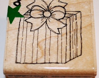 Present/Gift Rubber Stamp from JRL Design