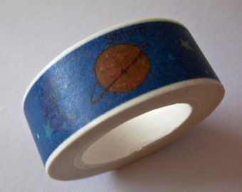 "SALE Washi Tape ""Planets""   10 Meters"
