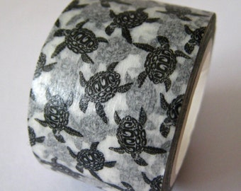 "SALE Hawaiian Style ""HONU"" Washi Tape from ""808Tape""   25mm x 10 Meters"