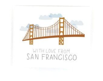 With Love from San Francisco Print
