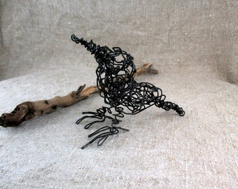 Wire Bird Sculpture  Wire art Wire sculpture  Wire animals Original Handmade
