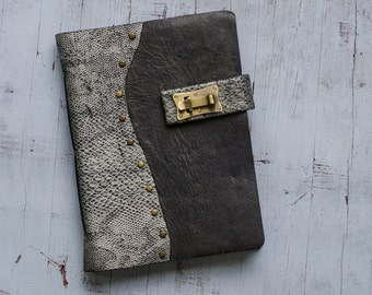 Hermes – Grey and White A5 Leather Journal | Limited Edition