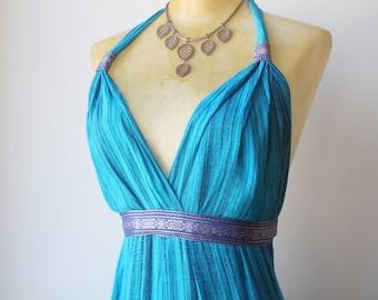 Maxi Dress, Halter Dress, Maxi Dress Boho