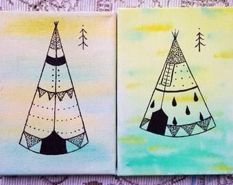 Tipi Mini Canvas Original
