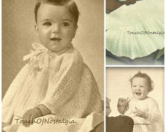 3 DAINTY Baby COATS Crochet Patterns Very Dainty Baby Coats JACKETS Sweaters-3 Styles Included/Flared Skirts Perfect Over Full Fancy Dresses