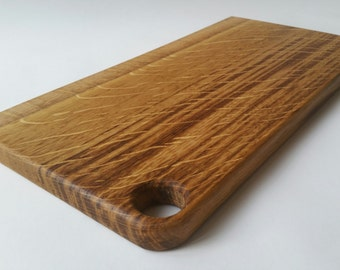 Oak chopping board, cutting board, wooden chopping board, cheese board, wood cutting board, chopping board, bread board