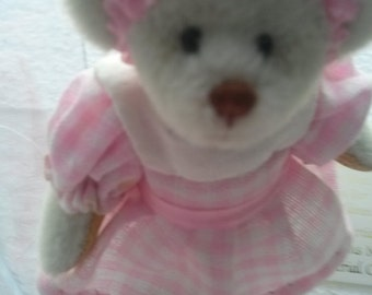 Little GEM TEDDY BEAR  Ashley,Limited Edition, Loving Stitches,Signed