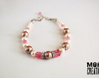 Swarovski Pearls & Crystals bracelet