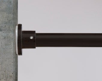 RoomDividersNow Tension Curtain Rods, Sizes Available from 28in-120in