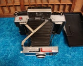 Vintage Polaroid Land Camera Automatic 100 and Accessories