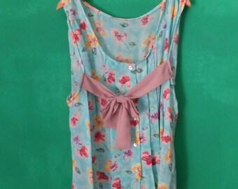 Cool summer women's shirt-blouse