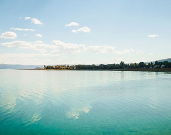 Bear Lake Waters-  Landscape Utah Photography  5x7
