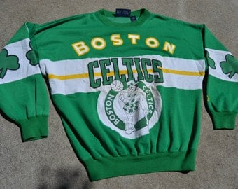 Big Time Ballin' Vintage 90's Boston Celtics Starter Brand Sweatshirt
