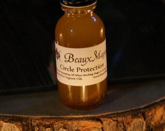 Circle Protection ~ Anointing Oil, Conjure Oil, Ritual Oil, hoodoo, rootwork. voodoo oil, rootwork oils