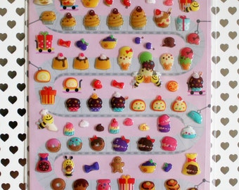 Sweet Dessert Sticker Sheet