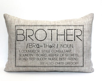 Brother definition | Etsy