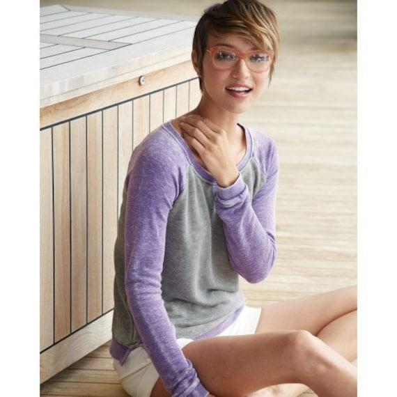 Alzheimer's Awareness Women's Lightweight Wide Neck Sweatshirt