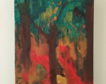 Abstract - three trees
