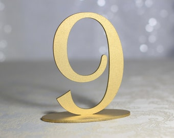 Gold Table Numbers | Beach Rustic Country Chic Wedding | Table Numbers | Wedding Gold Table Numbers | Freestanding Gold Table Numbers