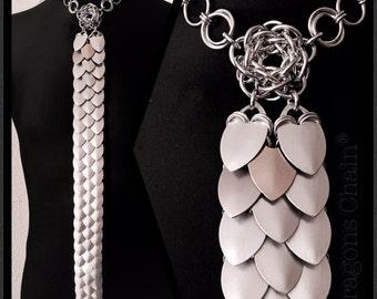 Scale tie - chain fashion fashion of extraordinaire - dragons Chain®