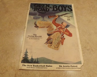 The Open Road For Boys Magazine