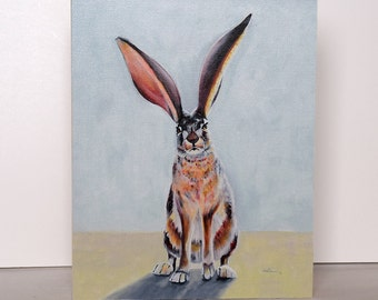 Badass Jack - a reproduction of a jackrabbit painting