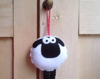 Hanging Felt sheep