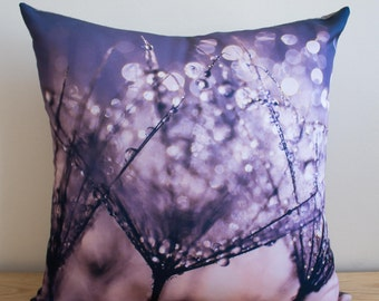 Pretty sparkles pillow cover with grey back ON SALE!